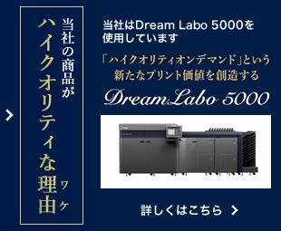 当社の商品がハイクオリティな理由 DreamLabo5000